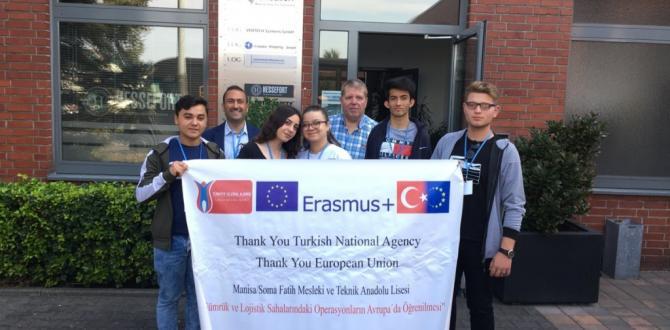 Fatih´in Öğrencileri  Almanya'dan Döndü