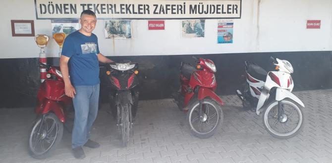 Çalıntı Motosikletler Soma'da Bulundu