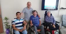 Engellilerin yaşadığı  rampa krizi çözüldü