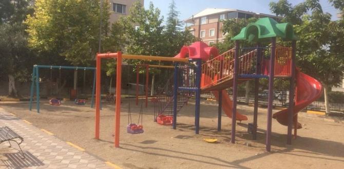Çocuk Parkları  bakıma alındı