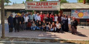 Başkan Tulup,  Zafer Spor Tesislerinde