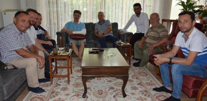 Soma Basınından Özkan'a ziyaret