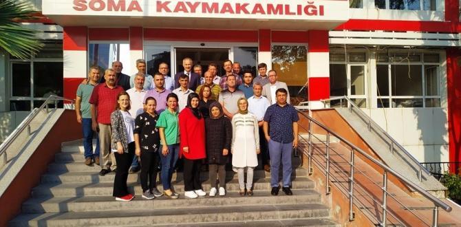 Mustafa Dikici,  MEM personeli ile vedalaştı