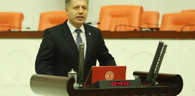 Milletvekili Özkan'nın Cumhuriyet bayramı Mesajı
