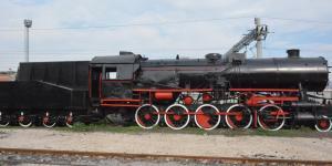 Buharlı Lokomotif  İstasyon Meydanında sergilenecek