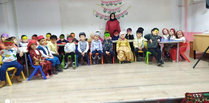 KELEBEKLER SINIFI Yerli Malı Haftasını Kutladı