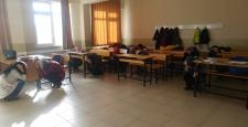 Okullarda Deprem tatbikatı