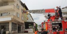 Yangında 1 kişi yaşamını yitirdi