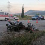 Soma'da trafik kazası: 2 ölü